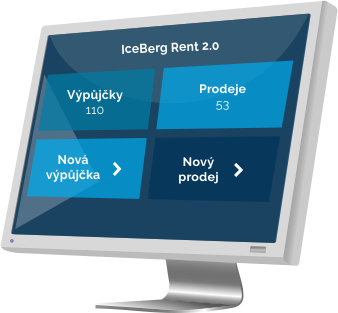 IceBerg 2.0 – program pro půjčovny lyží, lyžařské školy, půjčovnu kol